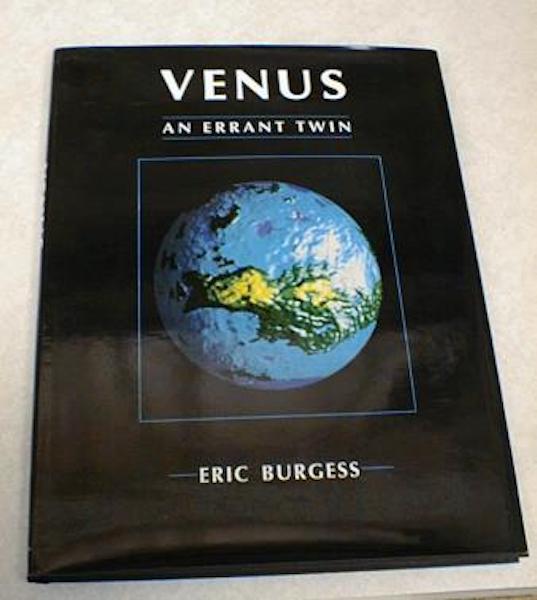 Venus An Errant Twin Eric Burgess, Burgess, Eric