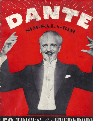 Dante Sim-Sala-Bim 50 Tricks for Everyone Magic 1940, N/a