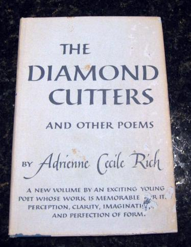 The Diamond Cutters Poems Adrienne Cecile Rich 1955 1st [Hardcover], Adrienne Cecile Rich