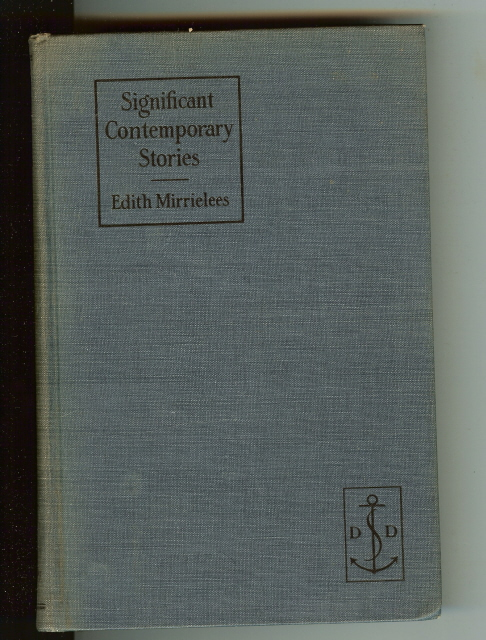 Significant Contemporary Stories [Hardcover] by EDITH MIRRIELEES, EDITH MIRRIELEES