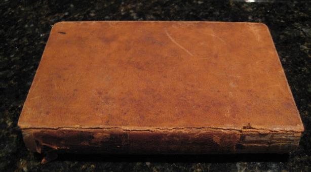 Elements of Chemistry Alonzo Gray 1846 [Leather Bound] by Gray, Alonzo, Alonzo Gray