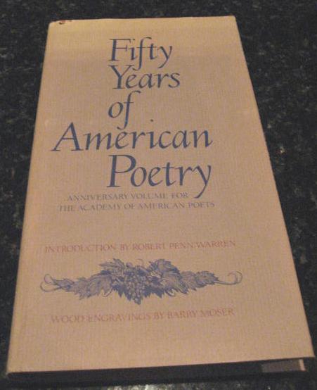 Fifty Years of American Poetry Moser Engravings [Hardcover] by Warren, Robert, Robert Warren