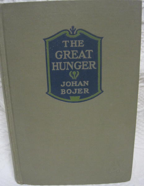 The Great Hunger, Bojer, Johan