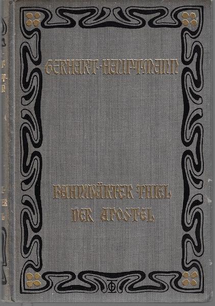 Bahnwarter Thiel - Der Apostel Gerhart Hauptmann, Hauptmann, Gerhart