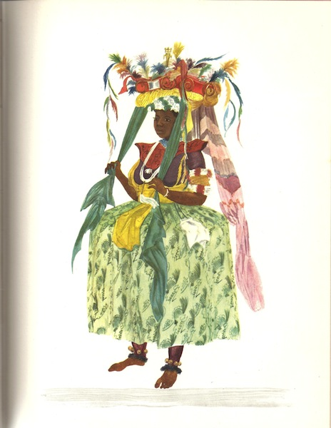Nigeria in Costume 1960 Shell Co Color Illustrations, N/a