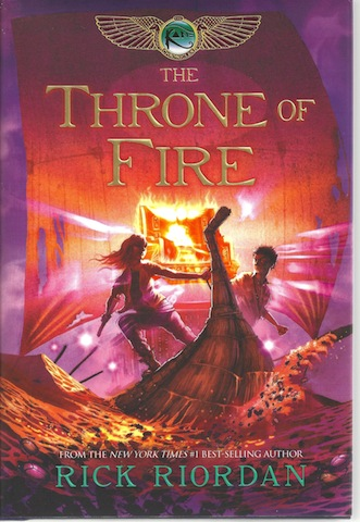 The Throne of Fire (The Kane Chronicles, Book Two)