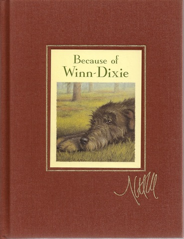 Because of Winn-Dixie Signed Signature Edition, DiCamillo, Kate