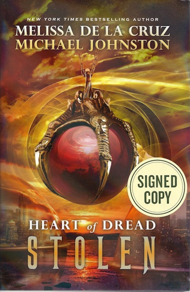 Stolen (Heart of Dread), de la Cruz, Melissa; Johnston, Michael