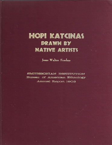 Hopi Katcinas Drawn By Native Artists, Fawkes, Jesse Walter