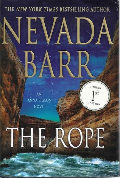 The Rope: An Anna Pigeon Novel (Anna Pigeon Mysteries), Barr, Nevada
