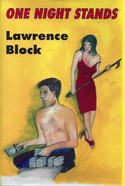 One Night Stands: Early Stories, Laid in Pamphlet, Block, Lawrence