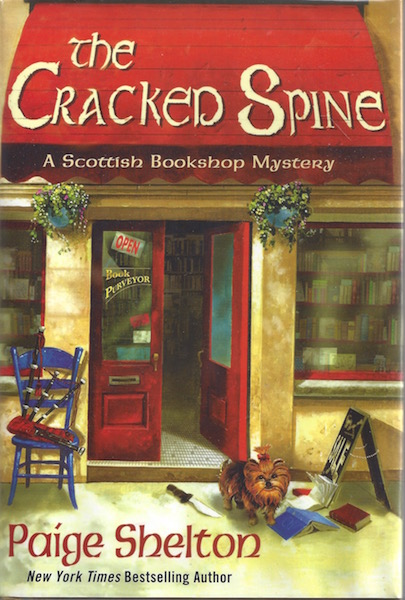 The Cracked Spine: A Scottish Bookshop Mystery, Shelton, Paige