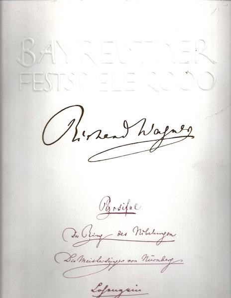 Bayreuther Festspiele 2000., .