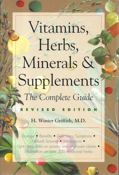 Vitamins, Herbs, Minerals, & Supplements: The Complete Guide, Mjf Books
