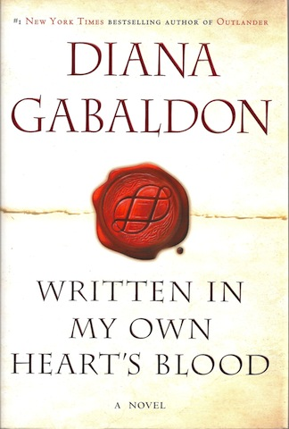 Written in My Own Heart's Blood (Outlander), Gabaldon, Diana