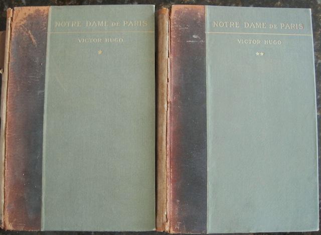 Notre Dame De Paris Volumes I & II Limited Edition, Victor Hugo; Rossi & Mybach Bieler