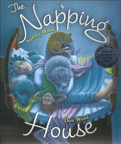 The Napping House with CD, Wood, Audrey; Wood, Don [Illustrator]