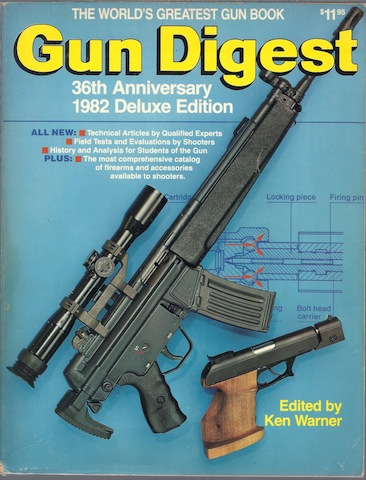 Gun Digest, 36th Anniversary Deluxe Edition, Ken Warner [Editor]