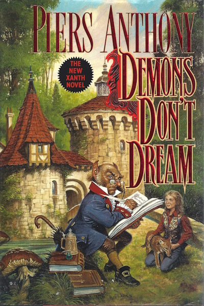 Demons Don't Dream (Xanth, No. 16), Anthony, Piers