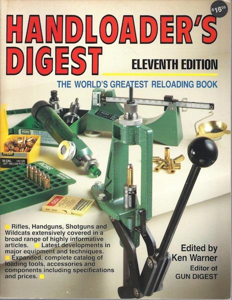 Title: HANDLOADER'S DIGEST Eleventh Edition, Ken, editor Warner
