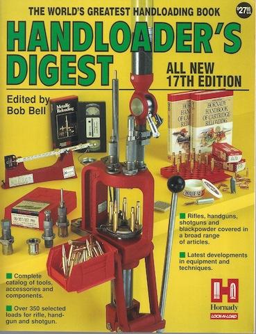 Handloader's Digest (17th ed), Bell, Bob [Editor]