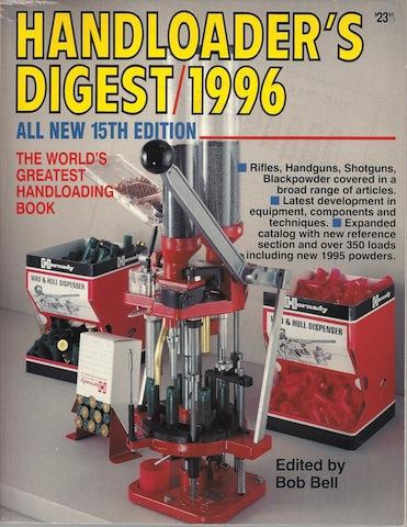 Handloader's Digest 1996, Bell, Bob [Editor]