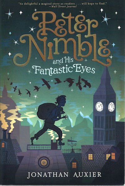Peter Nimble and His Fantastic Eyes, Auxier, Jonathan