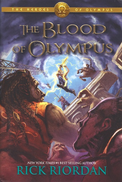 The Heroes of Olympus Book Five: The Blood of Olympus, Riordan, Rick
