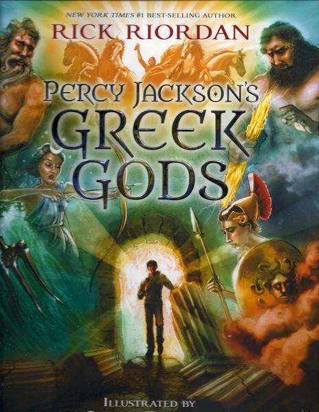 Percy Jackson's Greek Gods, Riordan, Rick; Rocco, John [Illustrator]
