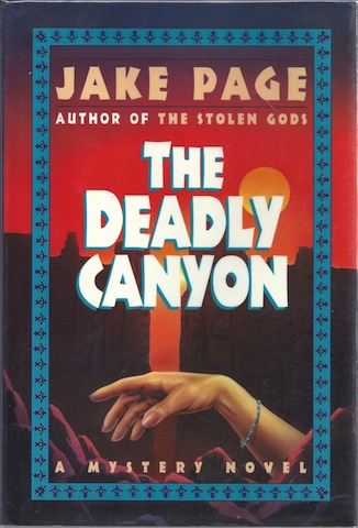The Deadly Canyon, Jake Page