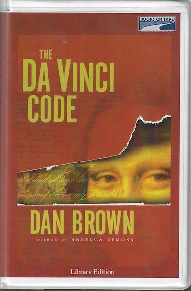The Da Vinci Code [Audio Cassette] by Dan Brown, Dan Brown