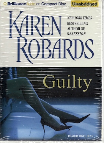 Guilty, Karen Robards; Reader-Joyce Bean