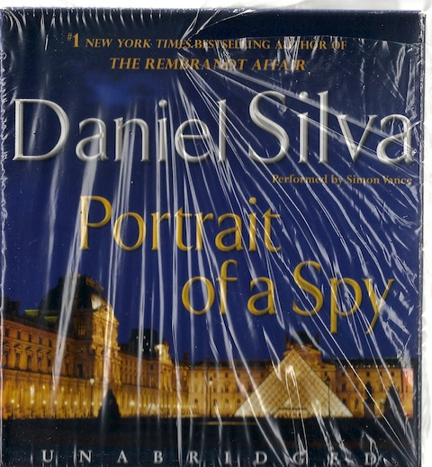 Portrait of a Spy, Daniel Silva; Reader-Simon Vance