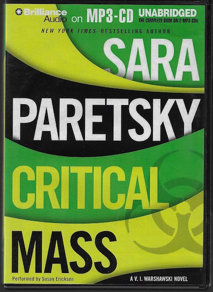 Critical Mass (V. I. Warshawski Series), Paretsky, Sara; Ericksen, Susan [Reader]