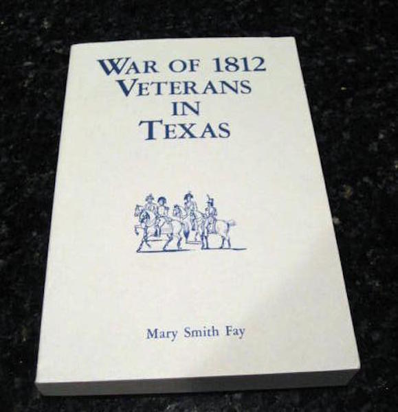 War of 1812 Veterans In Texas, Fay, Mary Smith