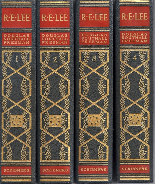 R. E. Lee: A Biography, Pulitzer Prize Edition (4 Volume Set), Freeman, Douglas Southall